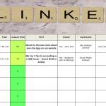 2016 Social Media Scheduling Calendar