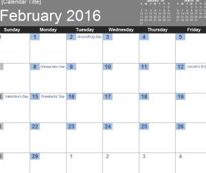 MET-2016-Simple-Calendar