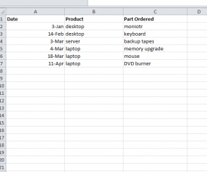 Create a COUNTIF Function in Excel