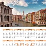 2016 Travel Calendar