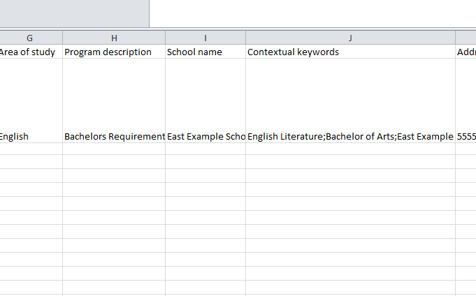 education feed template my excel templates. Black Bedroom Furniture Sets. Home Design Ideas