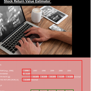 Stock Return Value Estimator