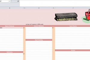 maintenance checklist template excel