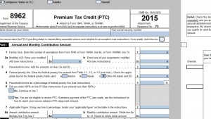 Tax Forms Template