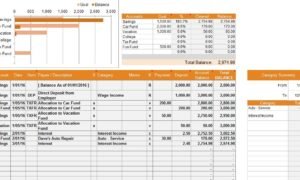 Financial Account Template