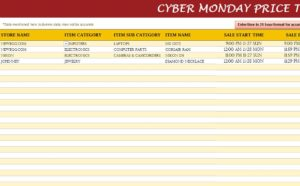 Cyber Monday Price Tracker
