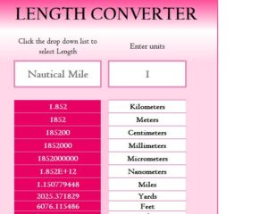 Length Converter Calculator