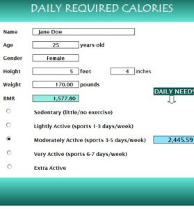 daily-required-calories-calculator
