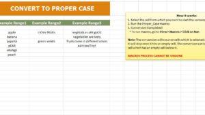 Convert to Proper Case