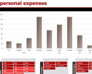Personal Expenses Log