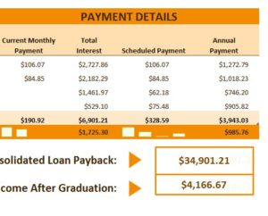 graduate loan calculator