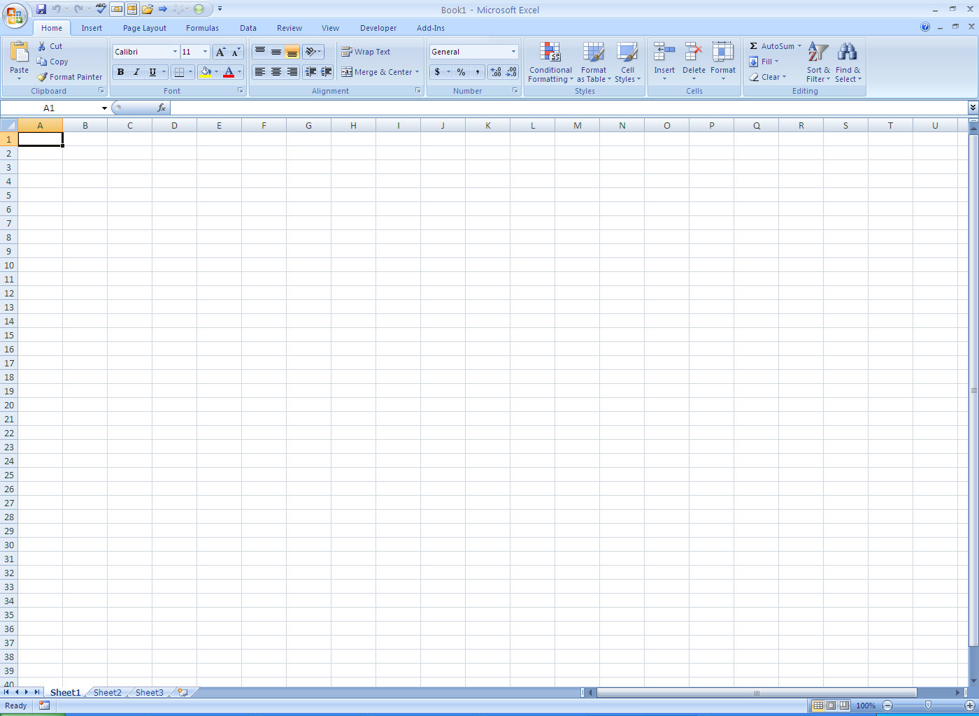 Learning Office 2007   Office 2007 Interface