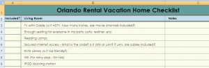 Free Vacation Rental Home Checklist Template