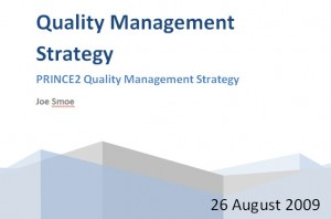 Quality Management Tool