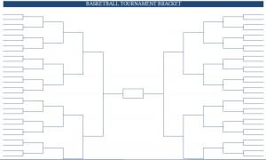 printable blank pdf ncaa women's basketball tournament bracket