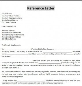 FREE Business Letter Template Word