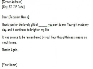 Letter Of Gift Template from myexceltemplates.com