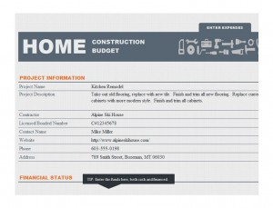 Photo of the Home Construction Schedule Template
