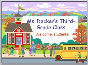 Free Back to School PowerPoint Template