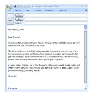 Free Introduction Email Template
