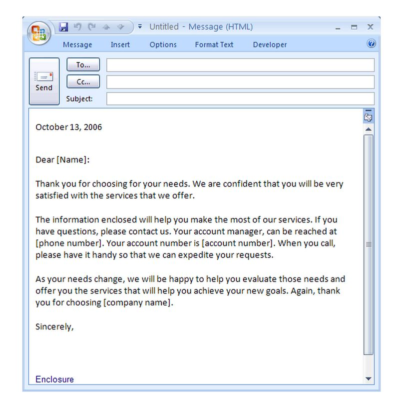 Introduction Email Template   Free Introduction Email Template
