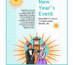 The New Years Eve Flyer