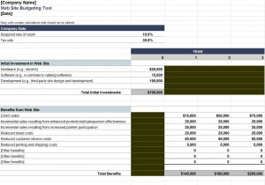 Download the Website Budgeting Template