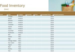 Free Food Inventory
