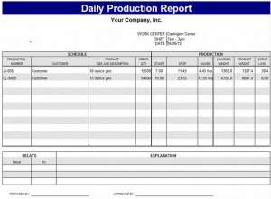 Production Schedule Template Production Schedule Template Excel