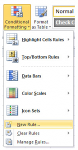 Highlight Cells with Certain Values in Excel
