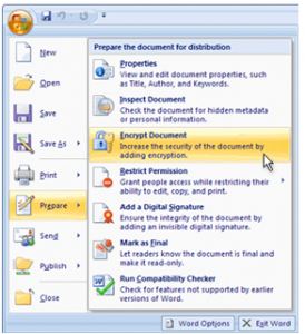 Password Protect Your Excel Documents