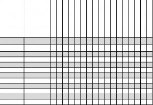 Simple Gradebook Template