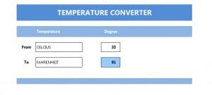 Temperature Converter Tool